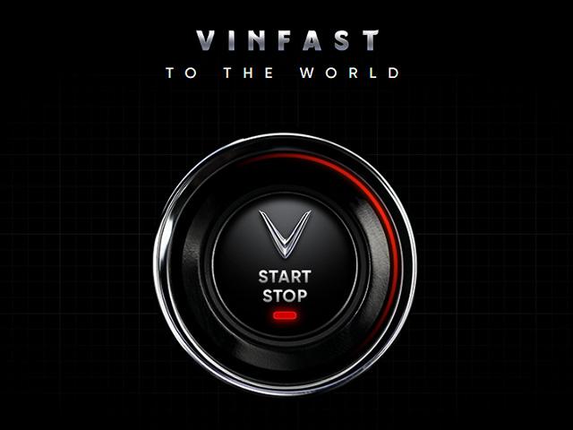 VINFAST đổi giao diện website, chuẩn bị ra mắt xe tại Paris Motor Show 2018