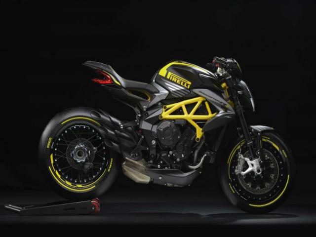 MV Agusta Dragster 800 RR Pirelli lộ diện, quỷ đỏ Ducati thêm áp lực