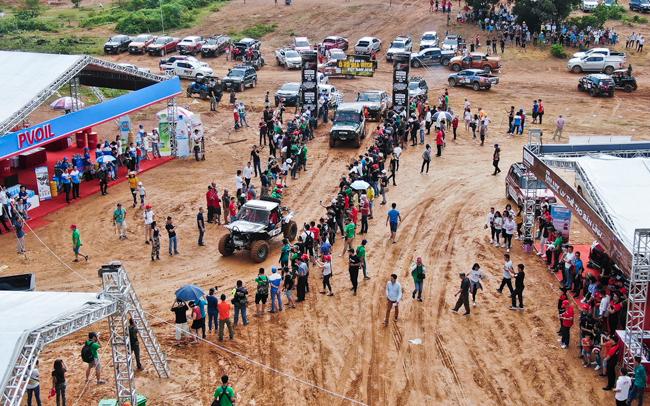 Sáng 29/9, hơn 80 đội đua trên toàn quốc hội tụ tại giải đua xe địa hình Việt Nam