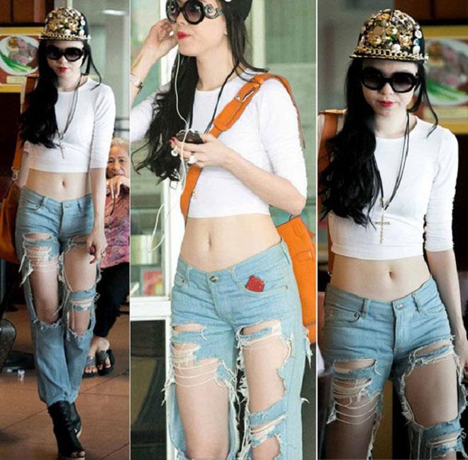 """Thảm họa jeans rách: Mặc sao để không thành """"ngôi sao bất đắc dĩ"""" - 1"""