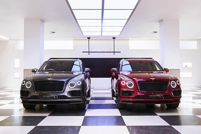 Bentley Bentayga mừng sinh nhật tuổi 100 bằng hai phiên bản Businessman và Sportsman - 1