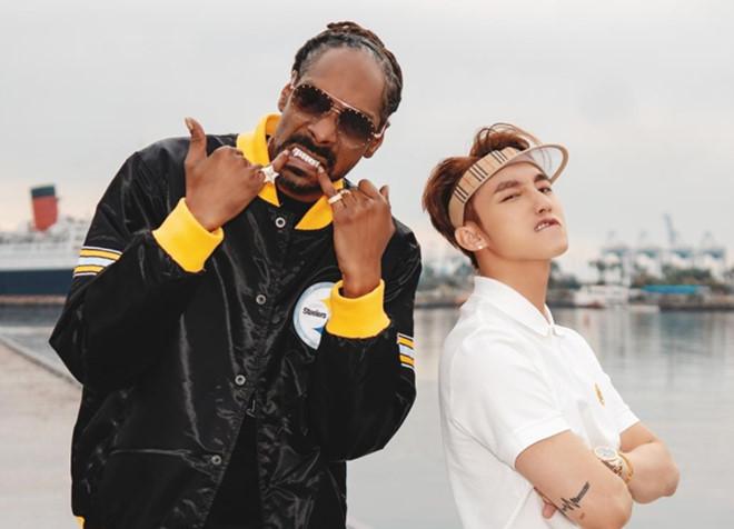 """Snoop Dogg gặp """"sự cố"""" hài hước khi nhắn lời chúc sinh nhật Sơn Tùng - 1"""