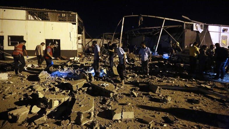 Tên lửa rơi khiến 137 người thương vong: Lính Libya xả súng vào người chạy nạn? - 1