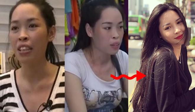 """Cô gái Nam Định lột xác ngoạn mục nhờ """"dao kéo"""" giờ ra sao? - 1"""