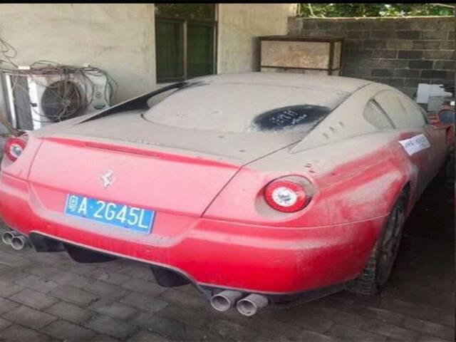 Giật mình siêu xe Ferrari có giá vài tỷ được rao bán chỉ 6 triệu đồng