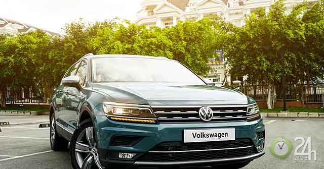 Volkswagen Tiguan Allspace bổ xung thêm phiên bản Luxury tại thị trường Việt