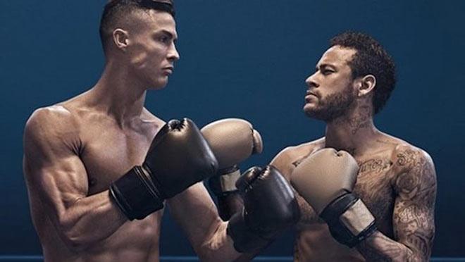 Ronaldo gây sốc: So tài Neymar sàn boxing, sẽ chơi bóng đến năm 40 tuổi - 1