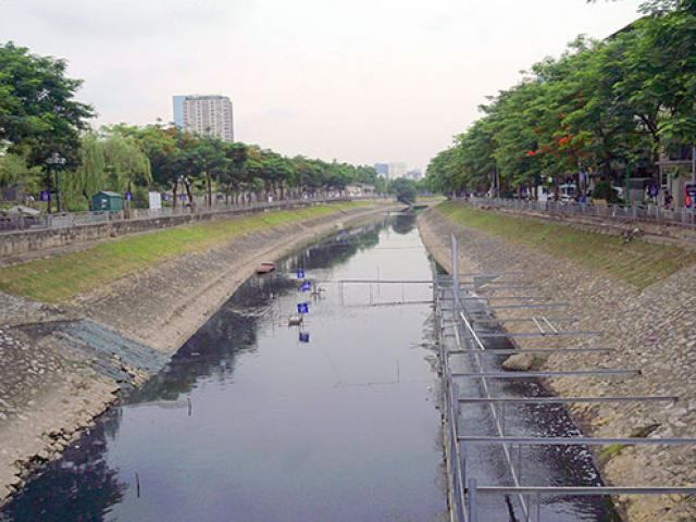 """""""Bảo bối"""" của Nhật Bản xử lý bùn siêu nhanh, sông Tô Lịch có cơ hội hồi sinh"""