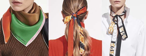 4 cách trang trí mái tóc với chiếc khăn mùa hè - 1