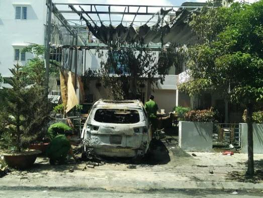 """Chấn động vụ ném """"bom xăng"""" vào quán cà phê ở TP Biên Hòa - 1"""