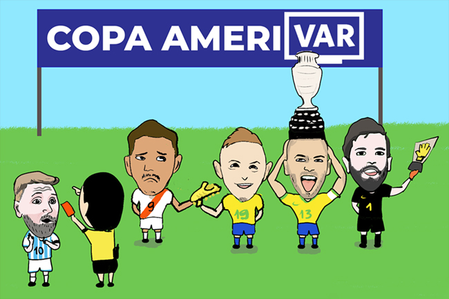Toàn cảnh trận tranh giải 3 và chung kết Copa America.