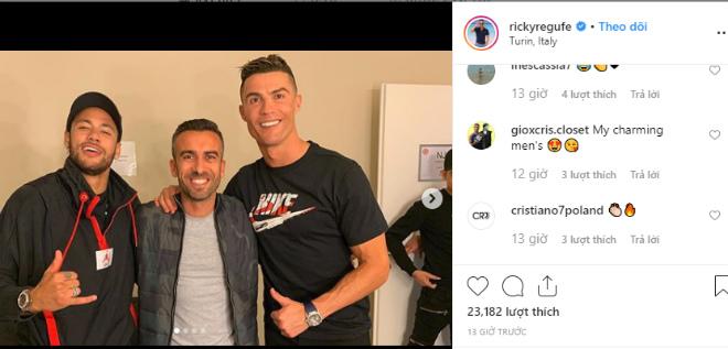 """Barca lo Juventus tạo """"địa chấn"""" chuyển nhượng: Neymar thân mật Ronaldo """"gây bão"""" - 1"""