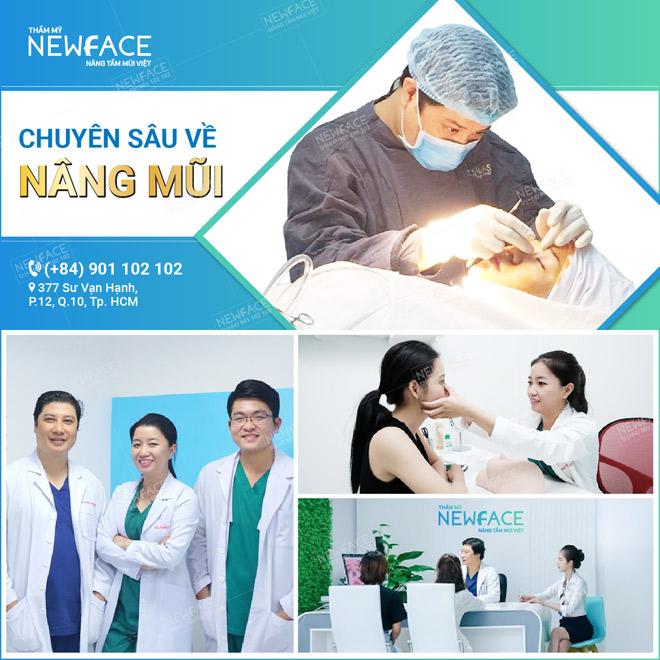 Thẩm mỹ viện NEWFACE – Địa chỉ chuyên sâu về nâng mũi tại Việt Nam - 1