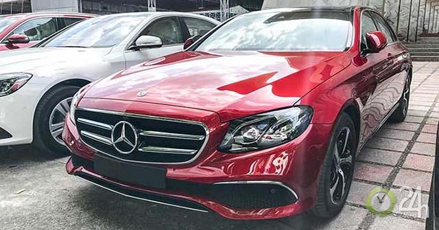Mercedes-Benz Việt Nam sẽ cho ra mắt dòng E-Class mới vào chiều nay