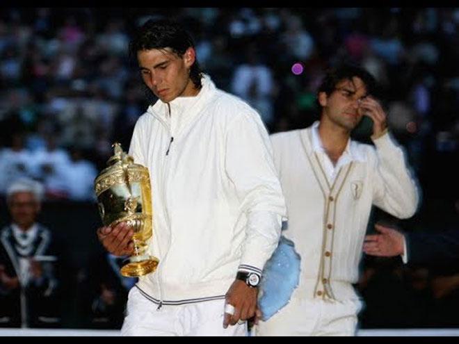 """Federer đấu Nadal sau 11 năm Wimbledon: """"Tàu tốc hành"""" có ngại khắc tinh? - 1"""