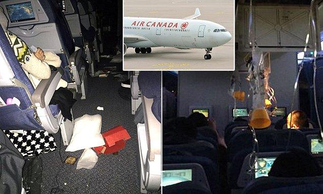 Kinh hoàng máy bay Canada chở 284 người bị cuốn vào lốc xoáy - 1