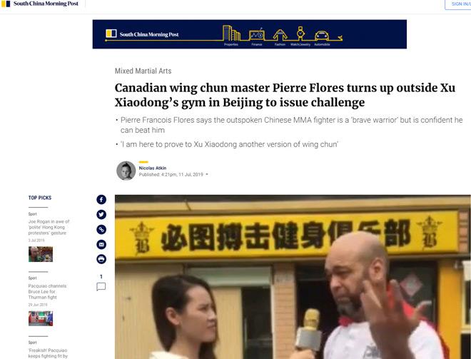 """Flores khiêu chiến Từ Hiểu Đông: Báo Trung Quốc lý giải chuyện """"né đòn"""" - 1"""