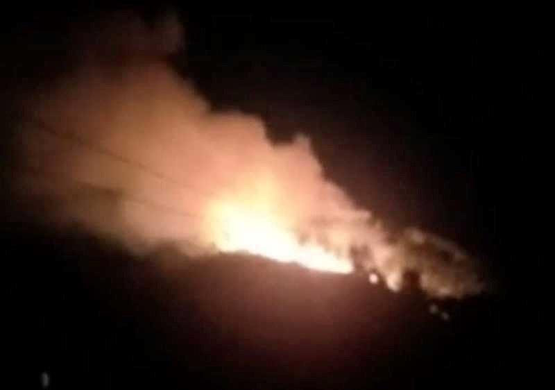 Hà Tĩnh: Lại cháy rừng tại Hương Sơn, sơ tán dân trong đêm - 1