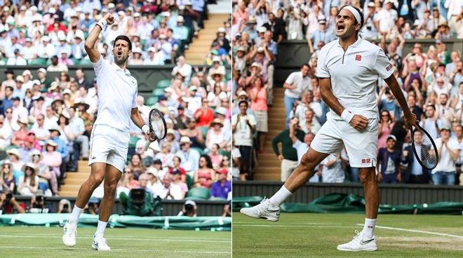 Federer đấu Djokovic chung kết Wimbledon: Nhà cái không tin FedEX - 1