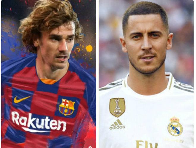 Chuyển nhượng 2 siêu sao chấn động bóng đá châu Âu: Griezmann, Hazard gây xôn xao - 1