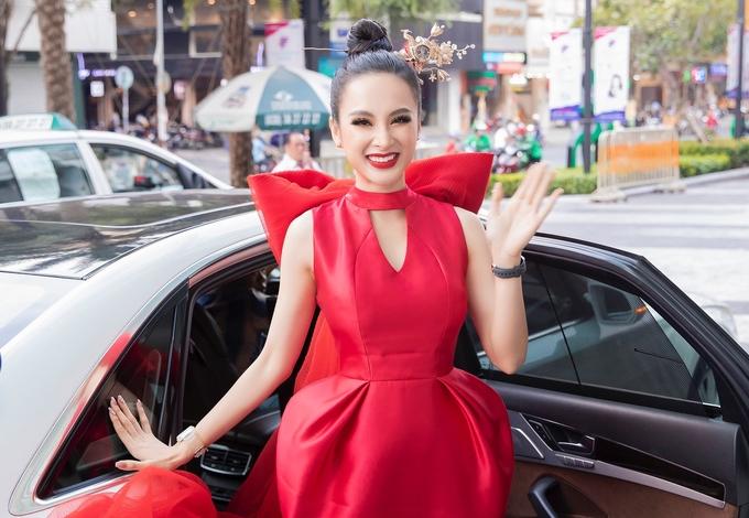 Angela Phương Trinh hiếm hoi dự sự kiện sau thời gian đi chùa, tập gym - 1