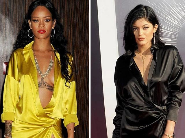 Tỷ phú Kylie Jenner chuyên copy phong cách của Rihanna?