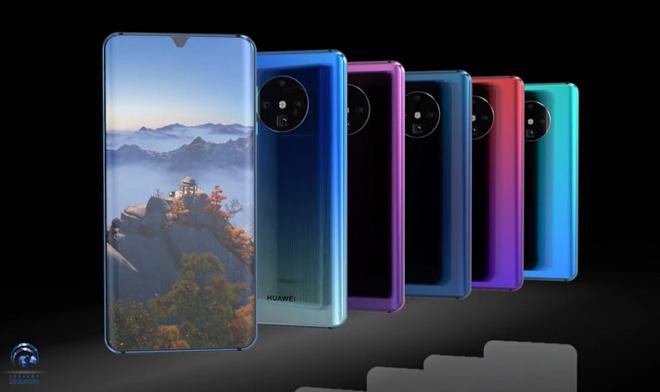 """Huawei Mate 30 Pro lộ diện: Camera cực khủng, thiết kế """"ngoạn mục"""" - 1"""
