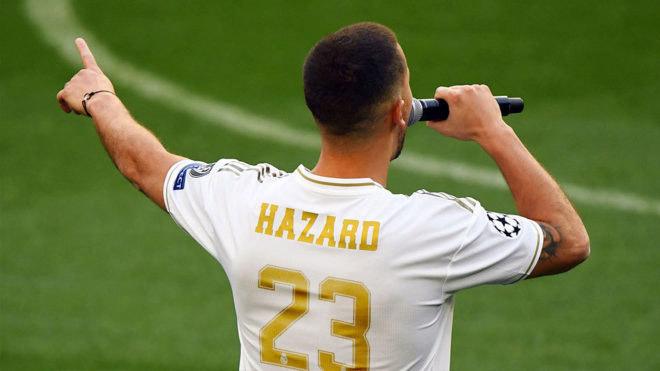 """""""Bom tấn"""" Hazard nhận số áo ở Real: Ngỡ ngàng học Beckham - 1"""