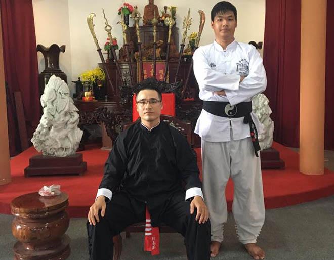 Tổng đàn chủ Vịnh Xuân Nam Anh mất chức sau clip đánh người - 1