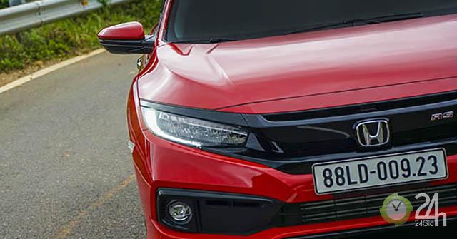 Honda Civic RS – Thiết kế thể thao, động cơ vượt trội
