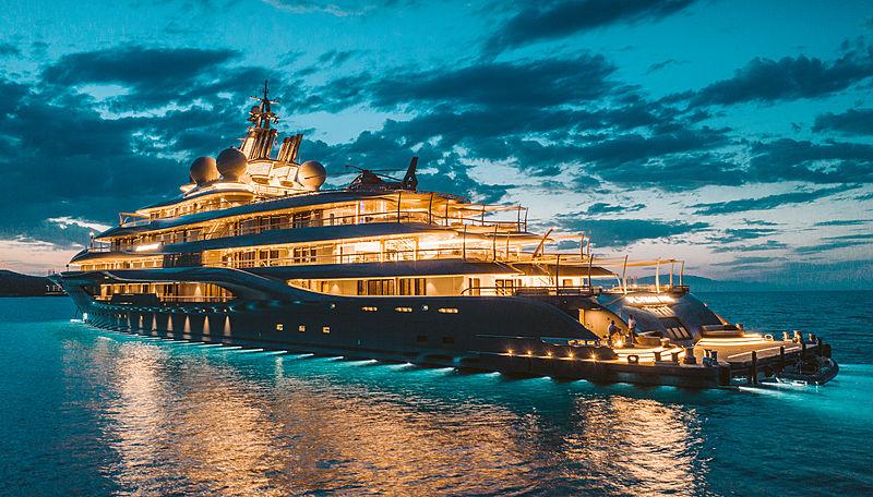 """Chiêm ngưỡng siêu du thuyền 400 triệu """"đô"""" của tỷ phú giàu nhất hành tinh - 1"""