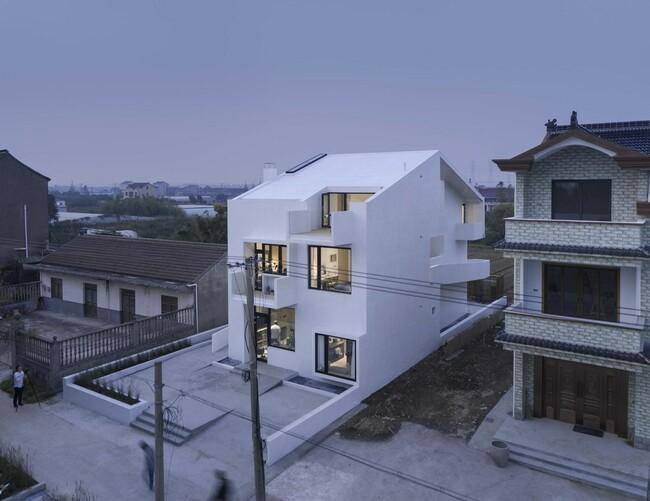 Ngôi nhà thuộc sở hữu của một anh thợ xây bình dị vùng nông thôn Tây An (Trung Quốc)…