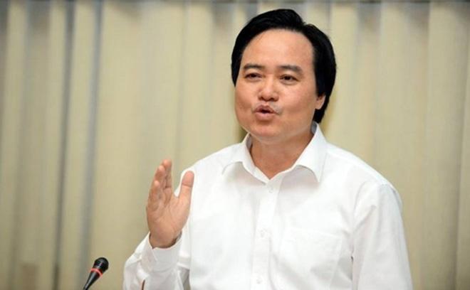 Bộ trưởng Phùng Xuân nhạ nói gì về điểm thi môn Lịch sử, Tiếng Anh kỳ thi THPT Quốc gia? - 1