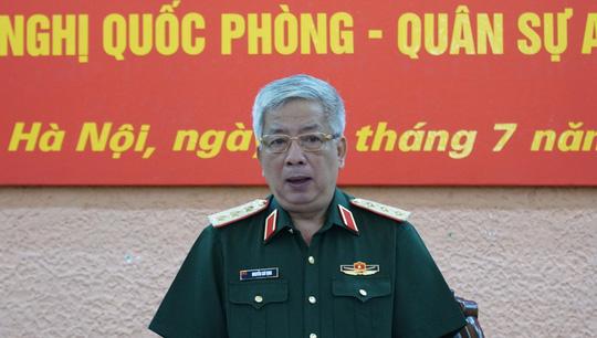Thượng tướng Nguyễn Chí Vịnh nói về vấn đề Biển Đông - 1
