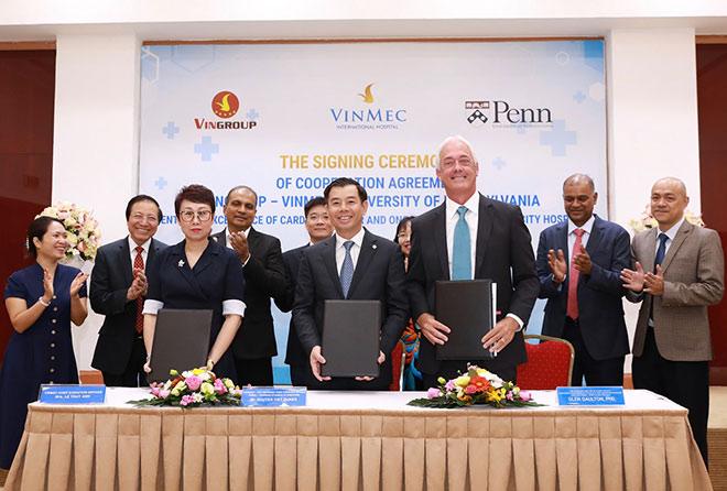 Vingroup hợp tác với ĐH Penn (Mỹ) xây dựng trung tâm về tim mạch và ung bướu tại Việt Nam - 1