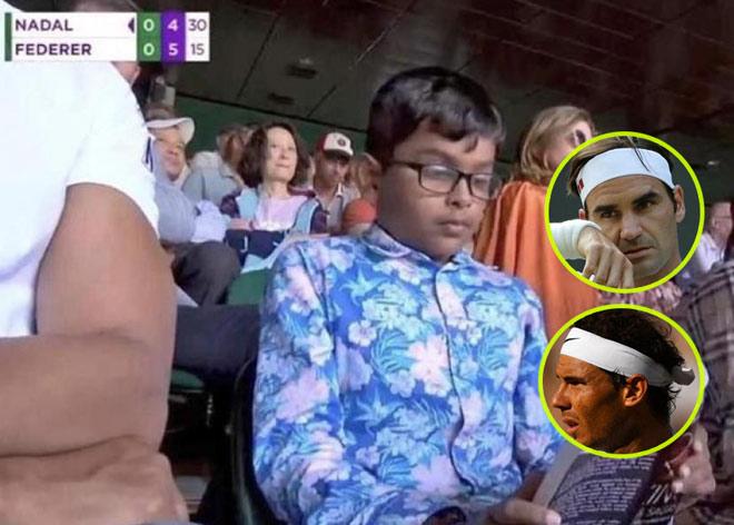 """Bỏ 171 triệu đồng mua vé Nadal - Federer: Cậu bé vào sân làm """"chuyện lạ"""" - 1"""