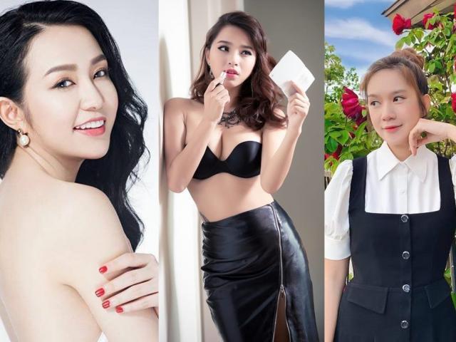 Nhan sắc xinh đẹp gợi cảm của 3 bà xã hot girl đông con của sao Việt