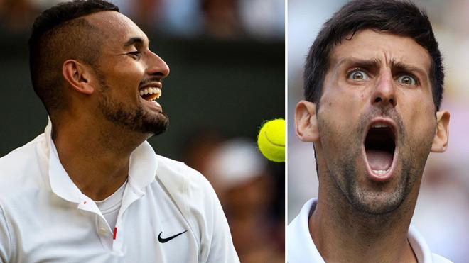 """Djokovic lần thứ 5 lên đỉnh Wimbledon: Quay lại """"trả đũa"""" Nick Kyrgios - 1"""