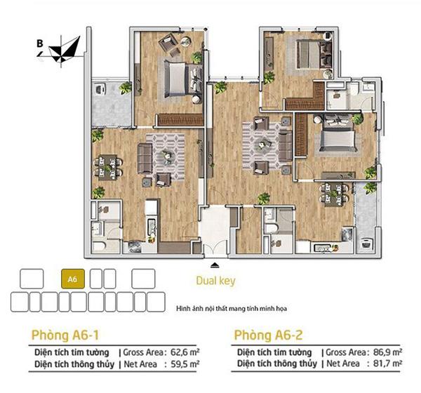 Sức hút của căn hộ dual-key cho gia đình đa thế hệ - 1