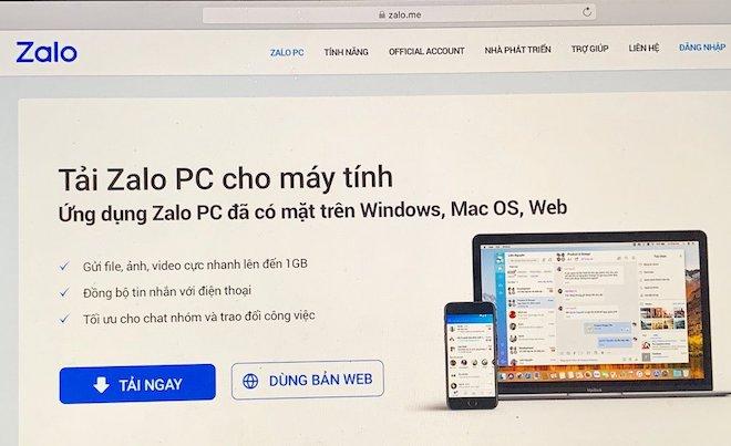 Yêu cầu thu hồi tên miền Zalo.vn và Zalo.me vì hoạt động mạng xã hội không phép - 1