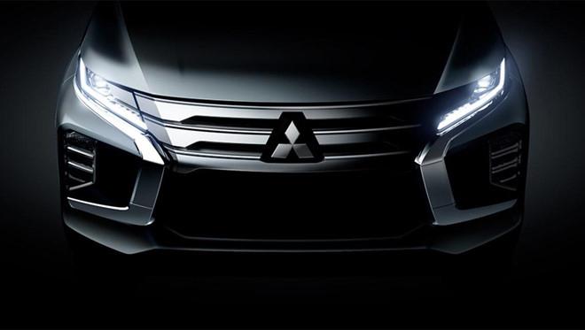 Mitsubishi Pajero mới lộ ảnh nóng trước ngày ra mắt tại Thái Lan - 1