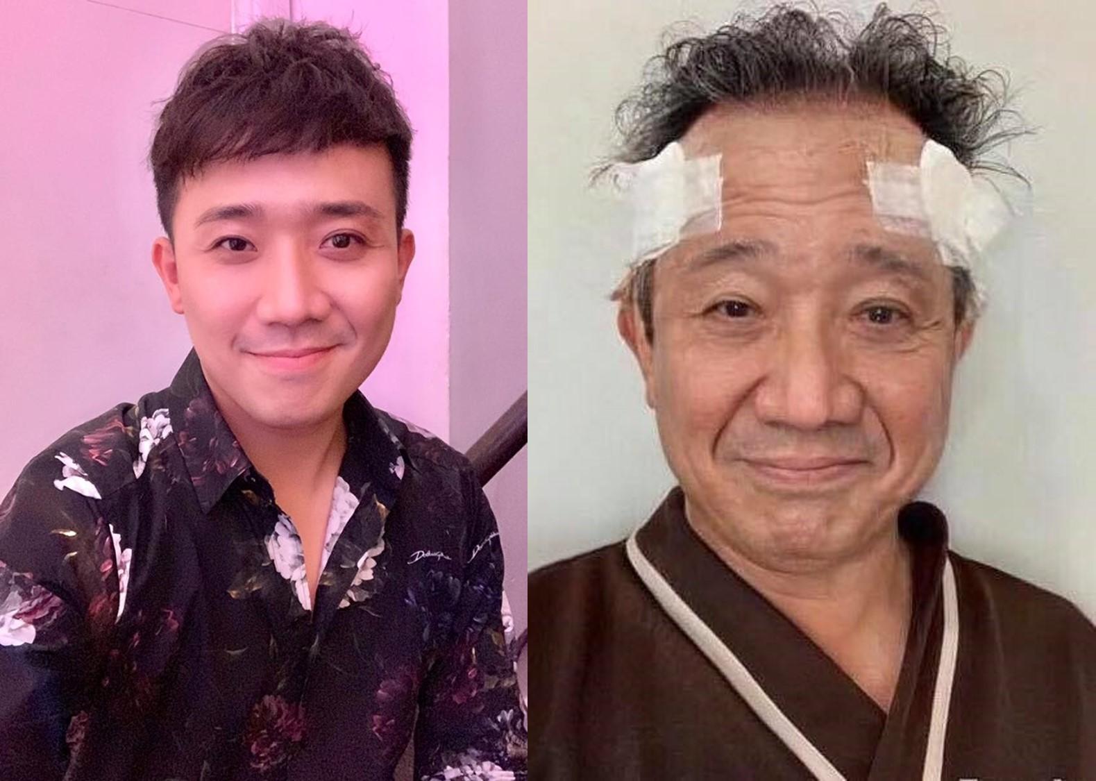 Ngỡ ngàng với hình ảnh già nua của vợ chồng Trấn Thành, Hari Won - 1