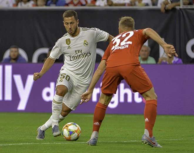 """""""Bom tấn"""" Hazard ra mắt Real: Khuấy đảo như Ronaldo, đối thủ choáng váng - 1"""