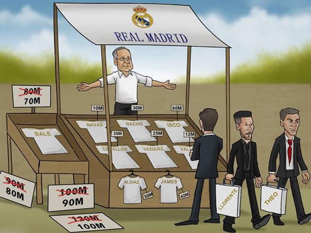 """Real Madrid tìm mọi cách """"tống khứ"""" Gareth Bale khỏi Bernabeu"""