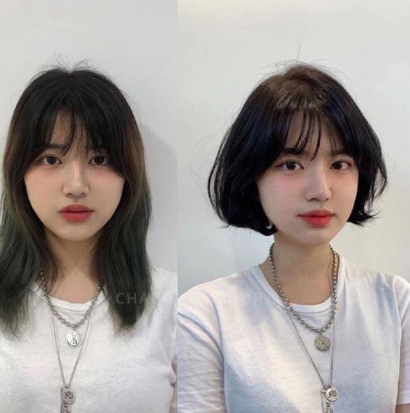 3 kiểu tóc ngắn trên cằm xinh xắn, được yêu thích nhất mùa hè thu 2019 - 1