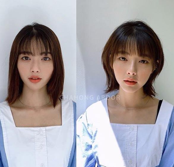 3 kiểu tóc ngắn trên cằm xinh xắn, được yêu thích nhất mùa hè thu 2019 - 2