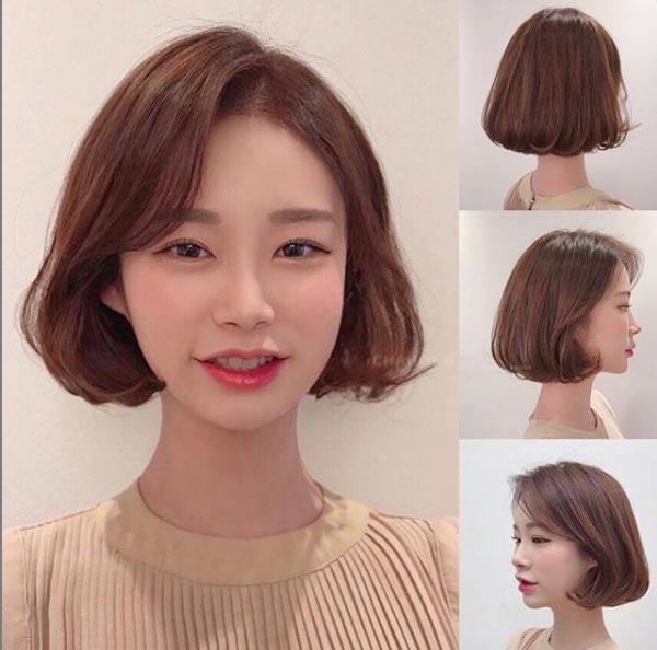3 kiểu tóc ngắn trên cằm xinh xắn, được yêu thích nhất mùa hè thu 2019 - 3