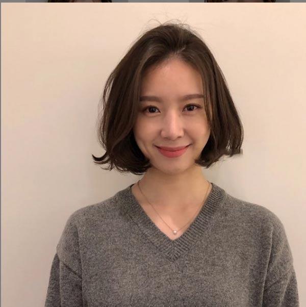 3 kiểu tóc ngắn trên cằm xinh xắn, được yêu thích nhất mùa hè thu 2019 - 5