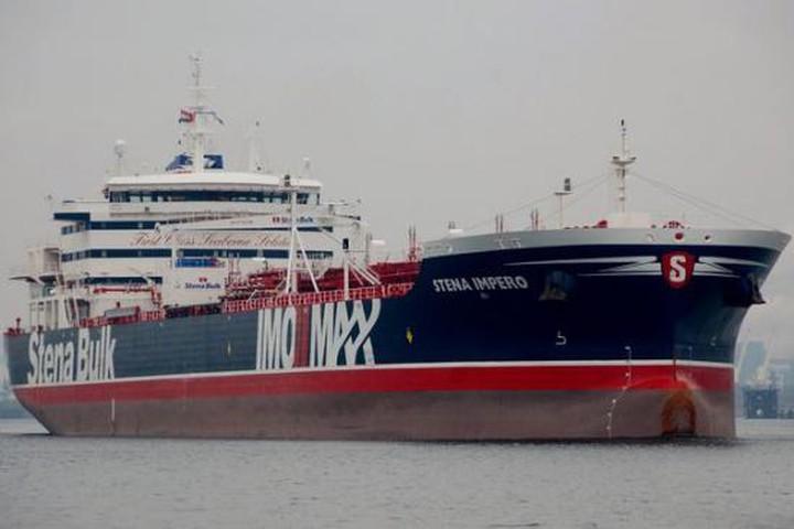 Tàu chiến Anh đã liên lạc với quân Iran, nhưng vẫn bất lực để tàu dầu bị bắt - 1