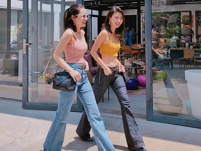 """Thân nhau phải diện đồ đôi, Quỳnh Anh Shyn Chi Pu là """"cặp bài trùng thời trang"""""""